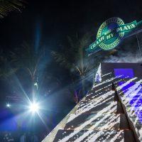 Mayan Pyramid at Crash My Playa