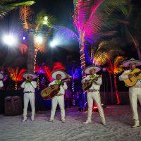 Mariachi band at Crash My Playa