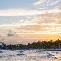 Caribbean Sea at Sunset for Crash My Playa concert vacation