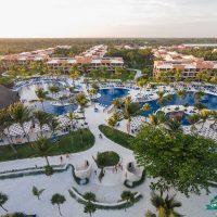 Bird's Eye View of pool at Crash My Playa